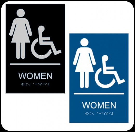 ADA Compliant Restroom Signs