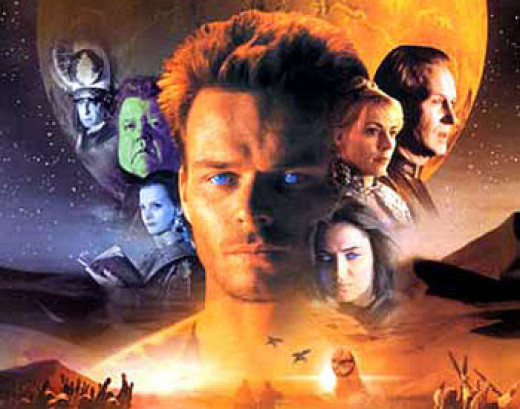 The characters for the 2000 more in depth version of Dune.