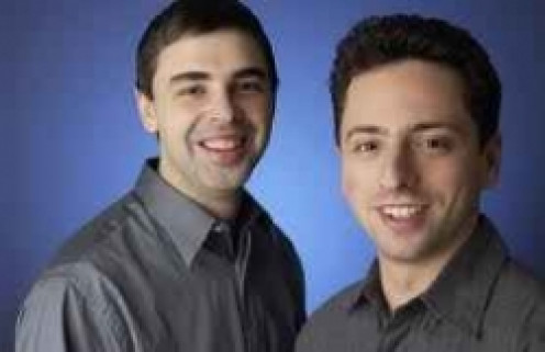 Larry Page & Sergey Brin founded Google Inc., corporate headquarters in Mountain View.