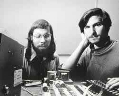 Steve Jobs & Steve Wozniak founded Apple Inc., corporate headquarters in Cupertino.