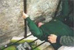 Kissing the Blarney Stone isn't easy