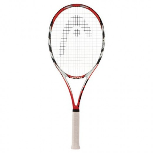 The Head Micro Gel Radical is low density, but maintains a sturdy feel, whether you are playing from the baseline or up at the net volleying.  This racket is light but plays like it's heavier, because it distributes the impact load around the frame.