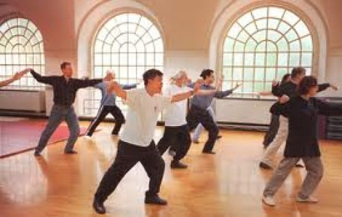 Tai Chi is excellent for learning balance and preventing falls.