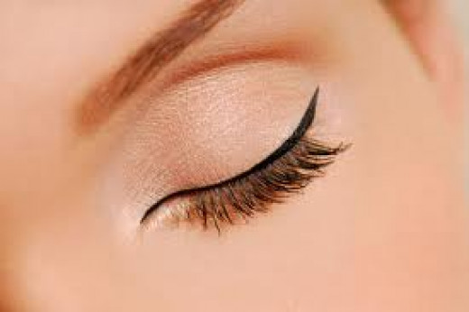 Keep the liner as close to your lashes as possible.