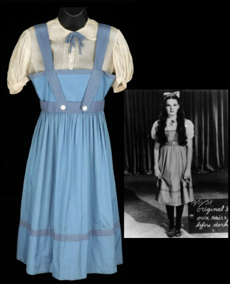 "This was a favorite dress that was singled out to be ""it"", and it would have been if they would have kept Dorothy as a blonde."