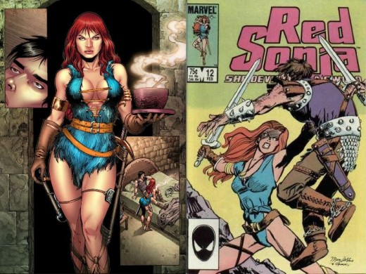 Red Sonja Blue Tunic