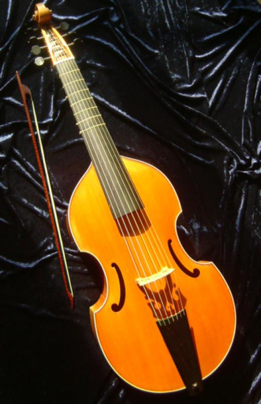 Bass viol or viola da gamba