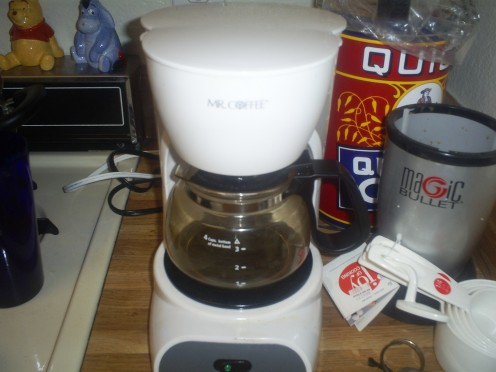 I love my little Mr. Coffee maker.