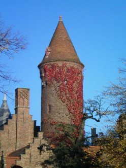 The medieval skyline of Bruges