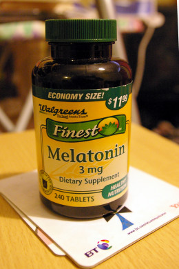 Melatonin supplements, as shown here, can be a great add-on to Ambien.  Be sure to talk to your doctor before adding any supplements to your daily routine.