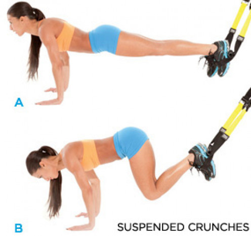 TRX Suspended Crunches