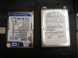 Dying hard drive and the replacing hard drive