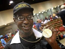 Seales, still proud of his gold medal
