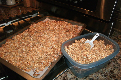 Crunchy, Coated, Oats!!