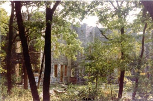 Cross Castle before it was destoyed