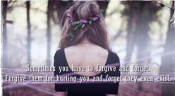 Forgiven, not Forgotten