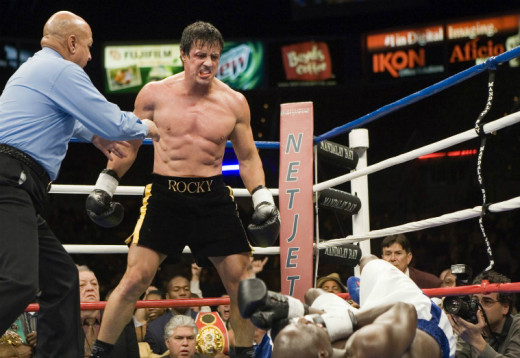 Rocky Balboa stands tall in the final installment of the franchise