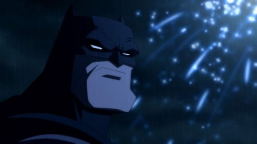Peter Weller did a great job as the voice of Batman.