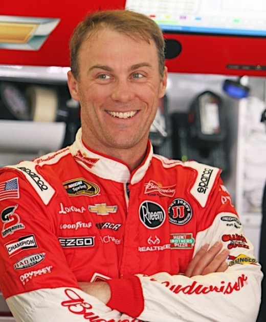 Harvick was one of the few drivers smiling after Sunday's race