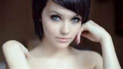 White skin woman
