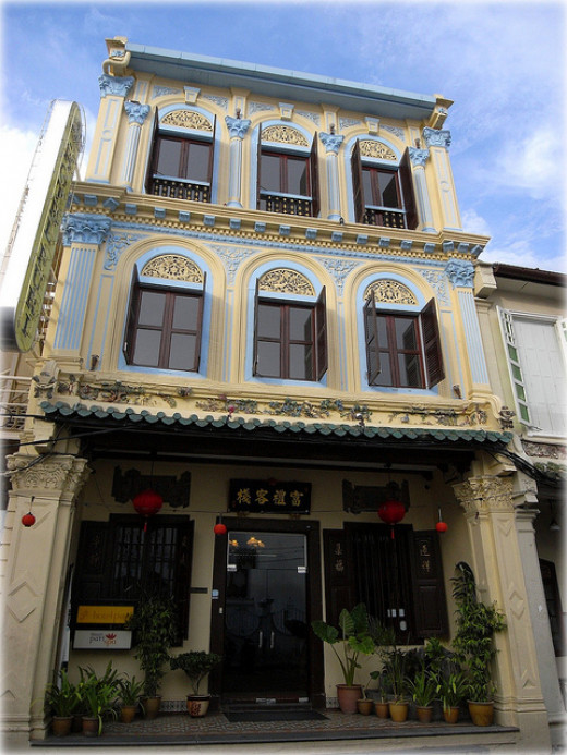 Puri is a only 5 minutes walk from the famous Jonker Walk.
