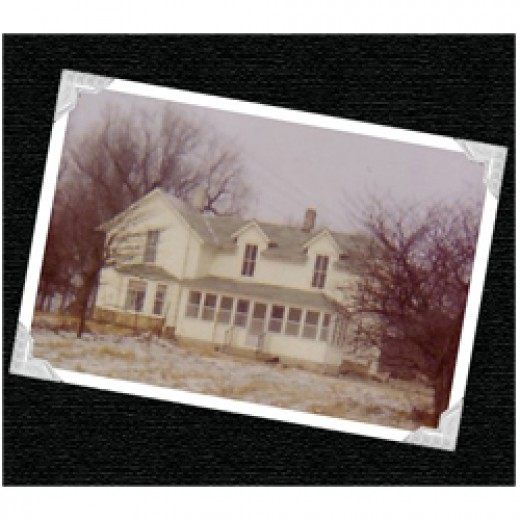 "This house represents the farmhome at the ""homeplace"" farm in The Homeplace Series stories."