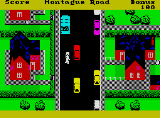 Go Trashman! New Generation hit the jackpot with this game on the ZX Spectrum