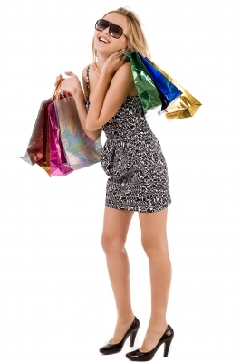 Young Lady Shopper