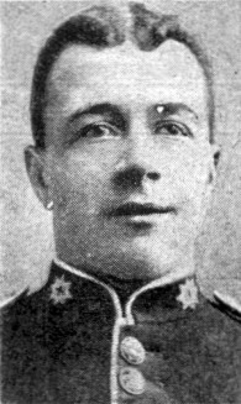 Private F.W. Dobson recipient of the Victoria Cross