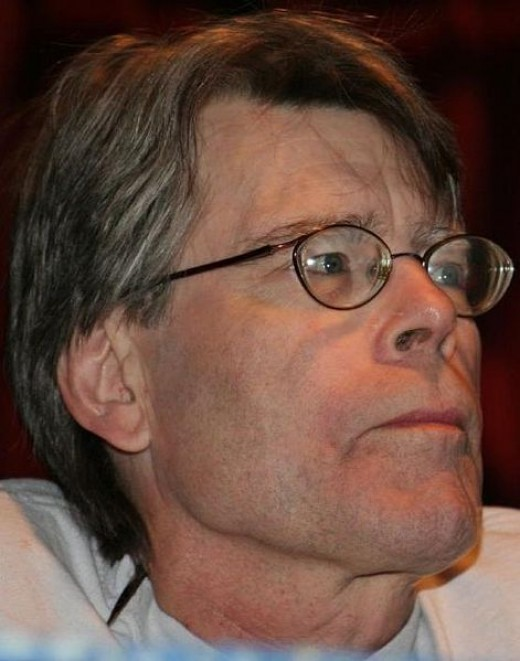 Stephen King. Source: Wikimedia Commons, Pinguino, CC BY 2.0.