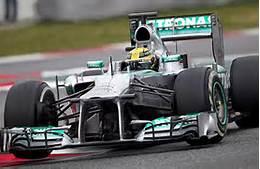Lewis Hamilton's current car for Mercedes Benz-cs