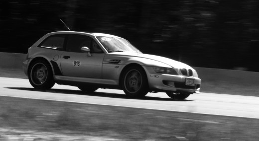 BMW M-Coupe (tilted and desaturated in PSE)