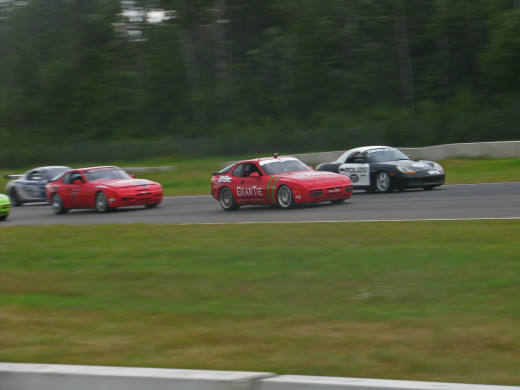 Traffic at Brainerd International Raceway