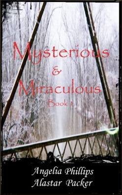 The beautiful photo cover for Mysterious & Miraculous was designed by Alicia Jaye Phillips and is used with her permission.