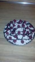 Easy Raspberry Chocolate Pie Recipe