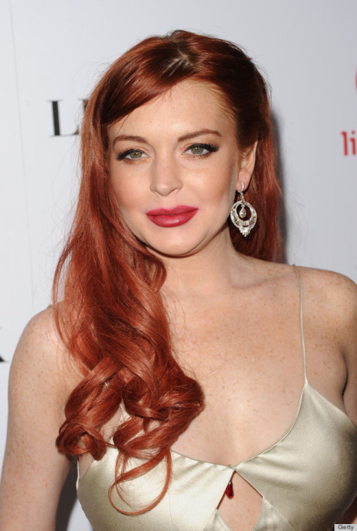 Lindsey Lohan stars in The Canyons