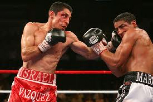 Israel Vazquez and Rafael Marquez waged four wars inside the ring. The two warriors went back and forth with lots of ebbs and flows during there fights.