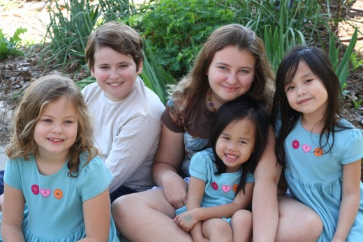 """We are blessed to have added two children to our family through international adoption from China."""