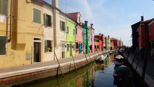 Houses on Burano