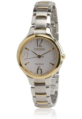 Ep5994-59A Silver/White Citizen Analog Watch