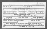 Naturalization Record for John Mery