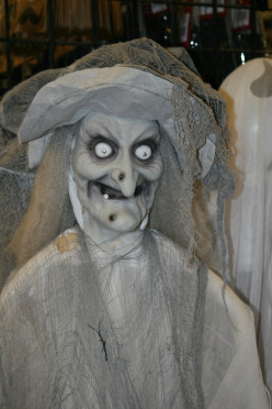 "Countless versions of witches, humorous, childish or any level of ""Scary"" will compliment your preferred decor' style."