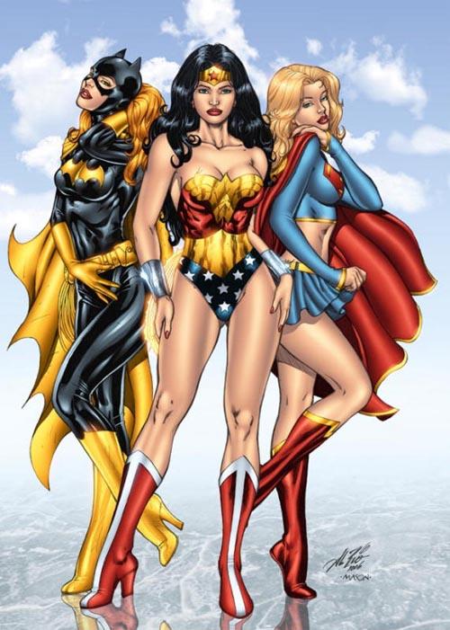Sexy superheroines