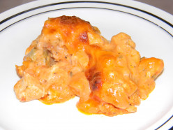 Italian Chicken and Rice Casserole Recipe made by a two year old!