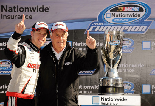 Penske won titles with Keselowski at the Nationwide and Cup level. The driver of the Blue Deuce isn't going anywhere
