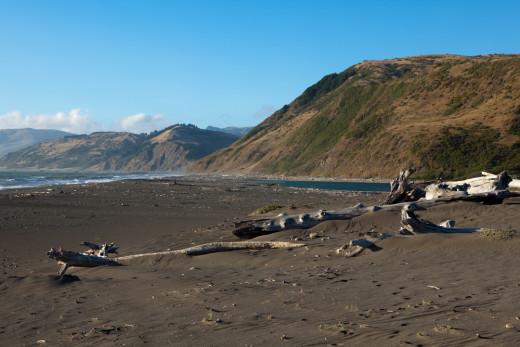 Mattole Beach on the Lost Coast Trail