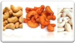salty fried cashew nuts