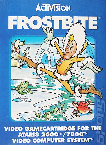 FrostBite is a worthy game for the Atari 2600 console