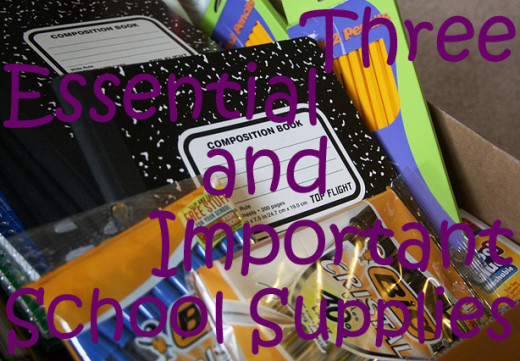 Going to school or going back to school? Don't forget to bring or acquire these essential and important school supplies