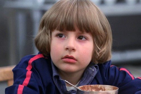 Young Danny Torrance, from the movie version of The Shining